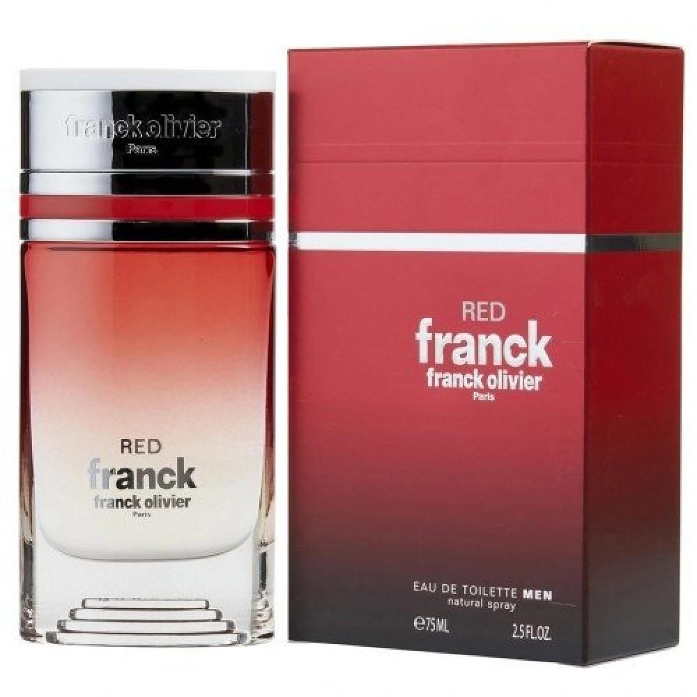 Franck Olivier Franck Red Eau de Toilette 75ml متجر خبير العطور