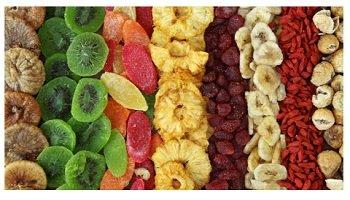 الفواكه والخضروات المجففة