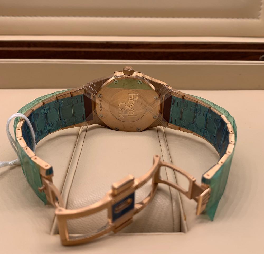 ساعة اوديمار بيجيه رويال اوك الأصلية الفاخرة