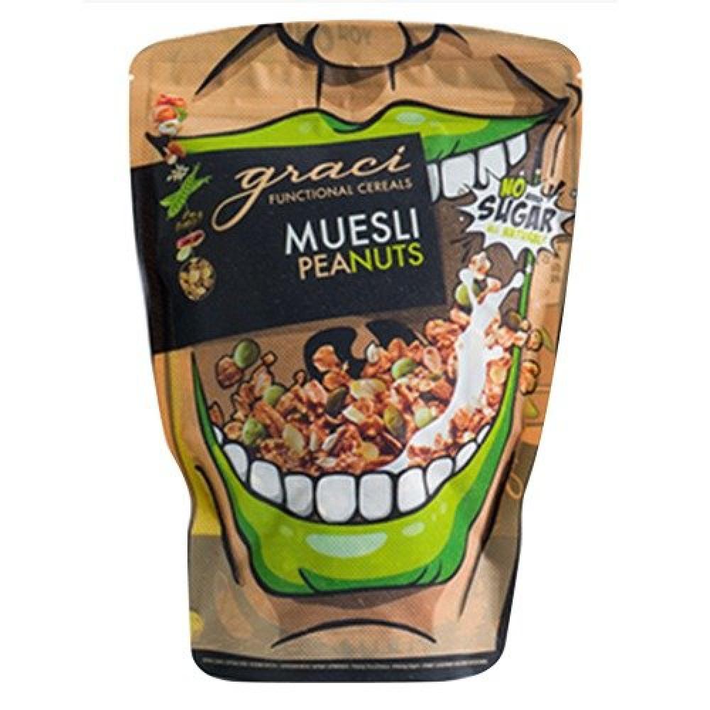 رقائق القمح والشوفان بالفول السوداني 300 جرام