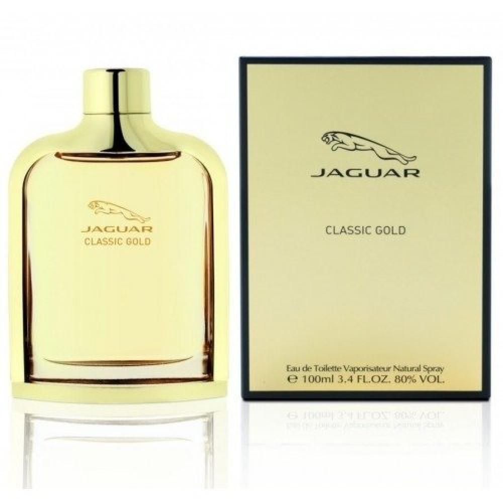Jaguar Classic gold Eau de Toilette 100ml خبير العطور