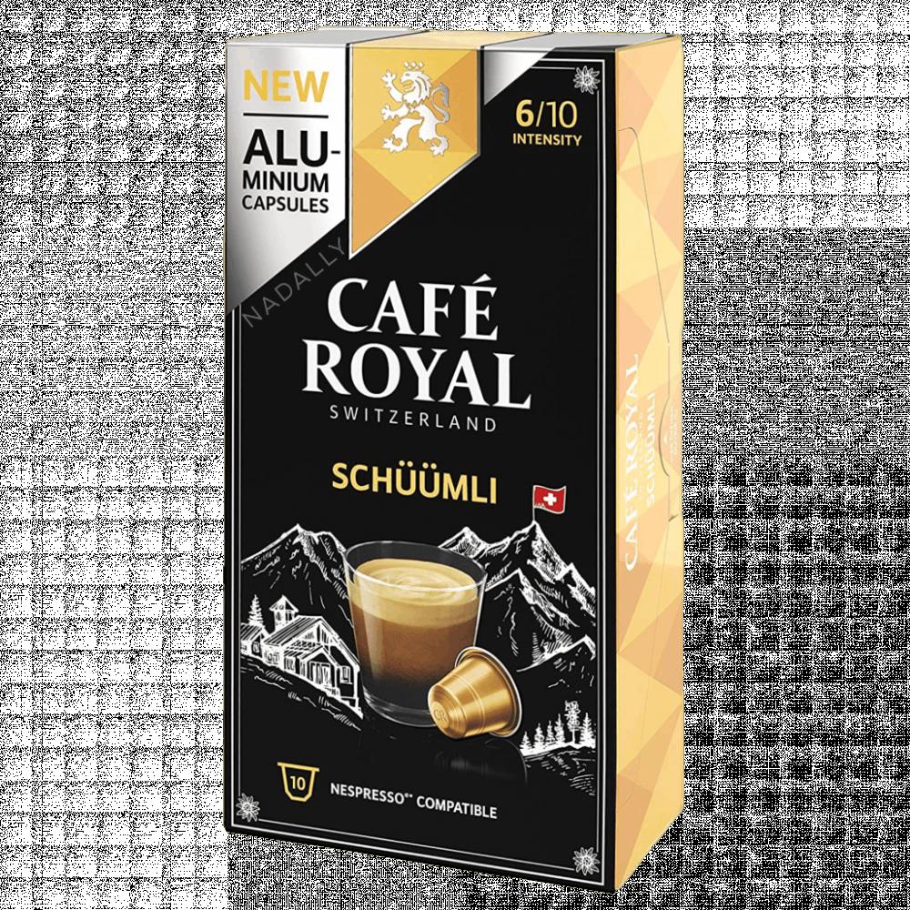 Cafe Royal قهوة كافي رويال لونجو شووملي كبسولات نسبريسو الأصلية Nespre