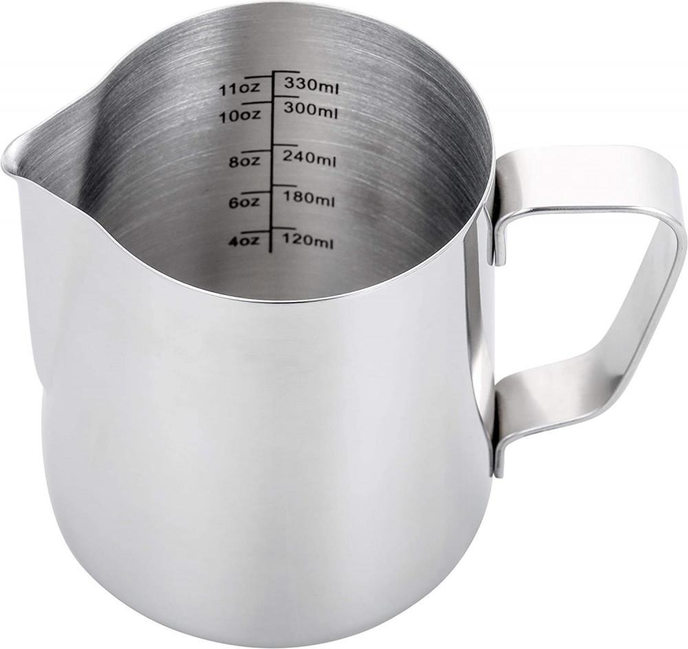 بيتشر تبخير الحليب 330 مل بقياس متجر كوفي كلاود محامص قهوة ادوات البار