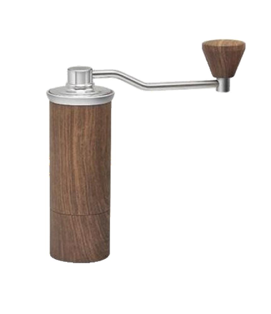 مطحنة قهوة لون خشبي سعة 15 جرام متجر كوفي كلاود محامص ادوات تحضير القه