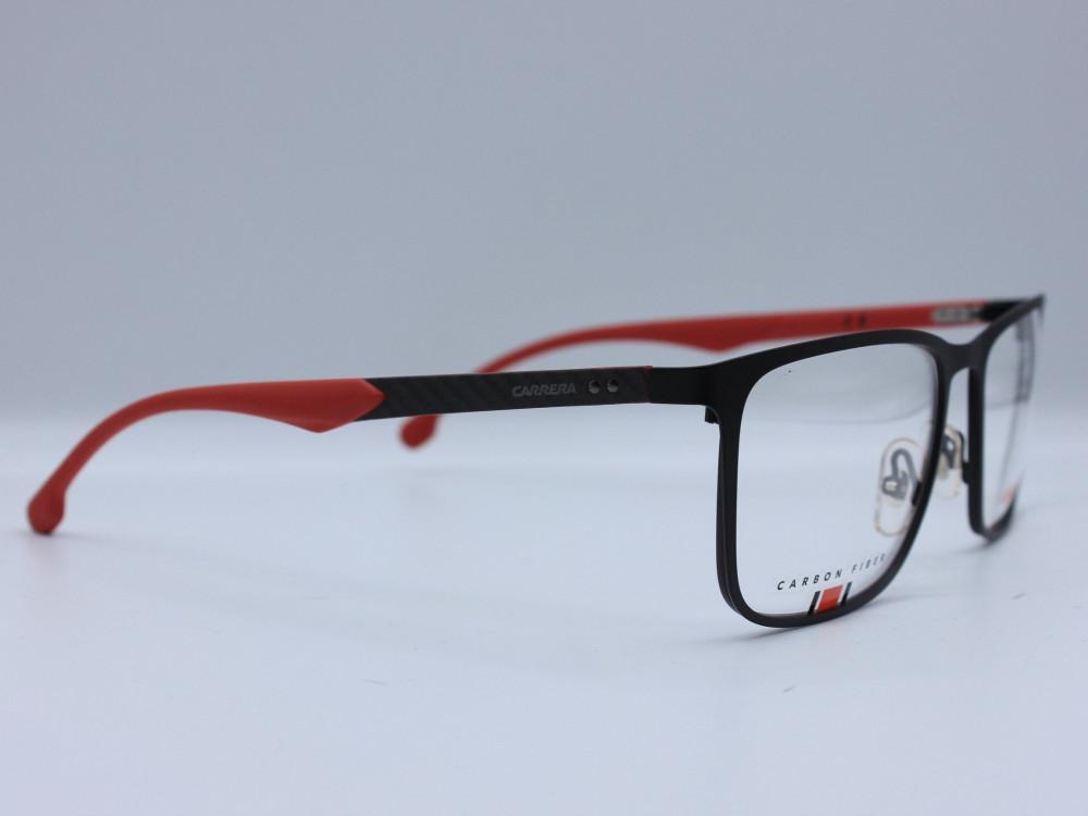 نظارة طبية ماركة CARRERA رجالي الإطار مربع مصنوع من معدن وبلاستيك