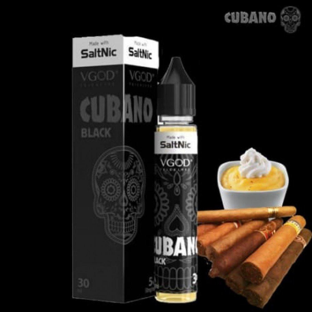 نكهة في قود كوبانو اسود - سولت - VGOD CUBANO BLACK Salt