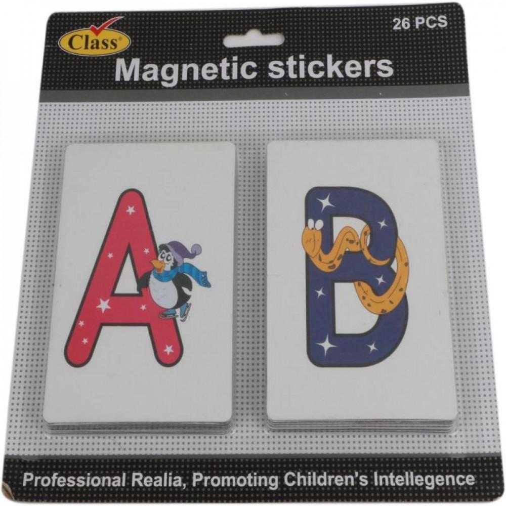 أحرف مغناطيسية انجليزية, كلاس, قرطاسية, Magnetic Stickers, Class