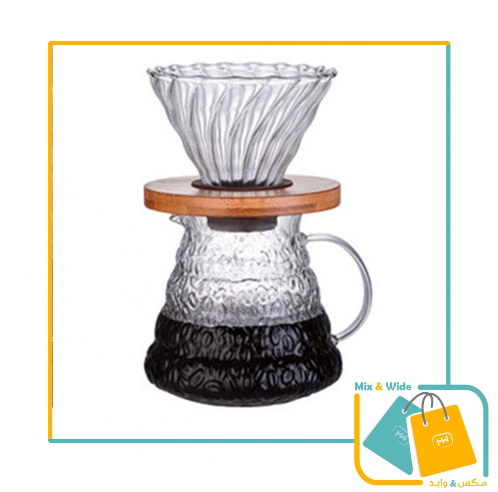 سيرفر للقهوة زجاج ثلجي حجم 600