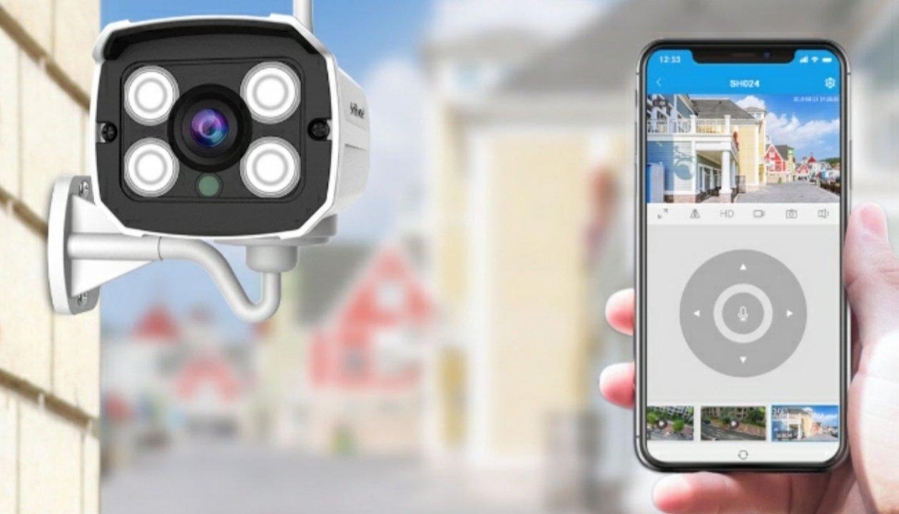 كاميرات المراقبة واي فاي