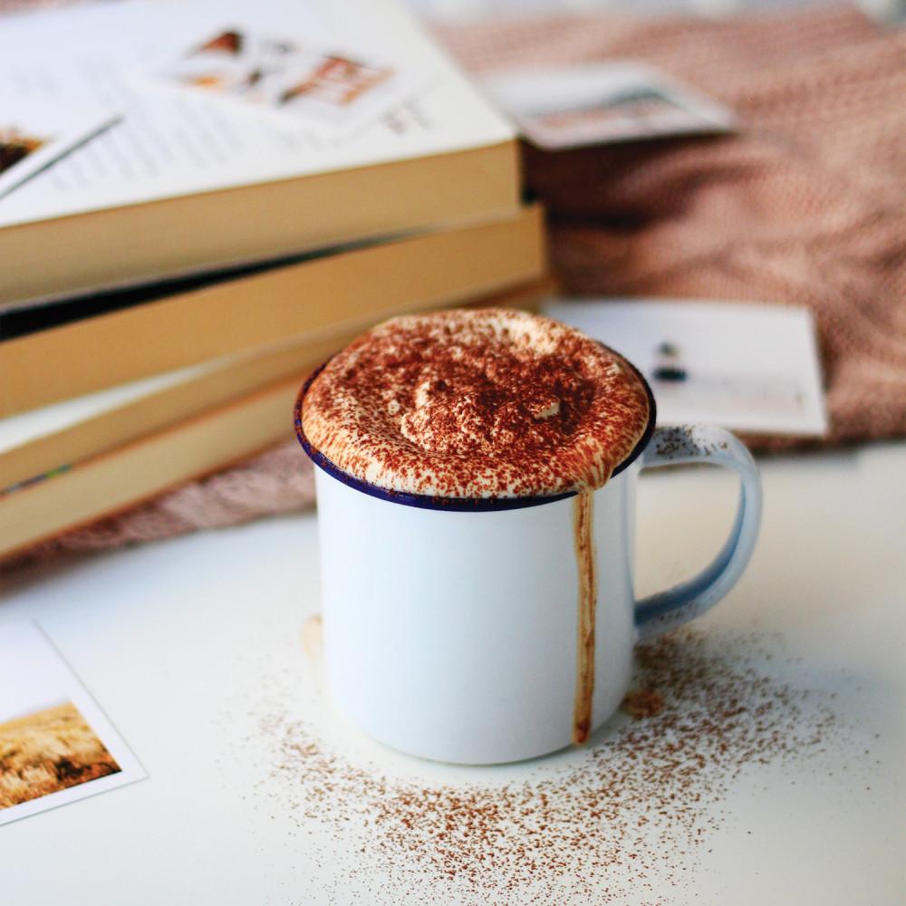 أفضل كوب حافظ للحرارة أكواب مينا القهوة الشاي ستيل مطلية بالميناء