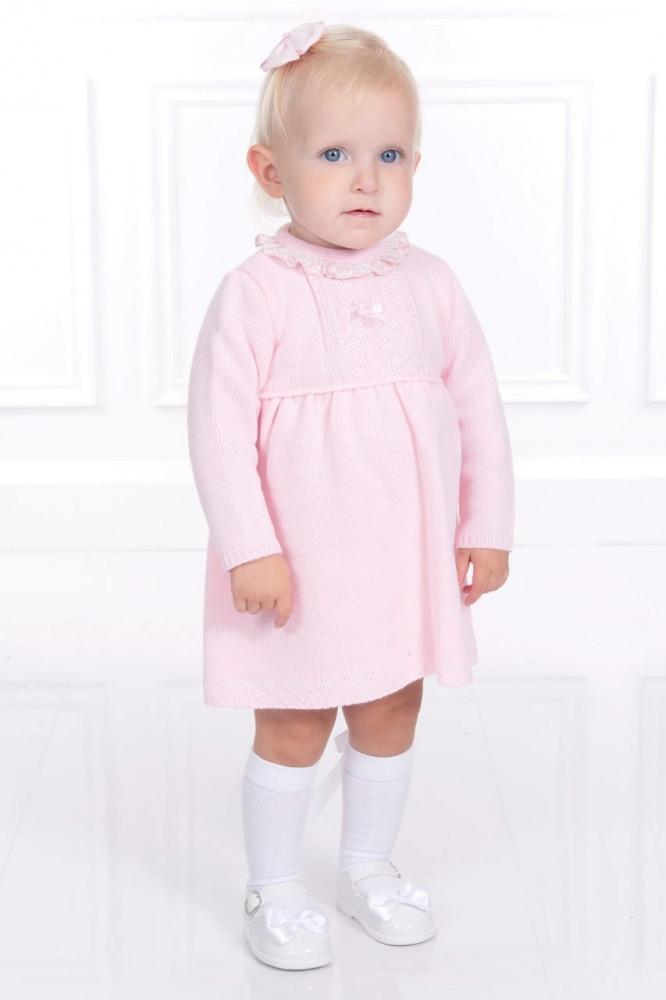 فستان راقي باللون الزهري من ماركة  دوها