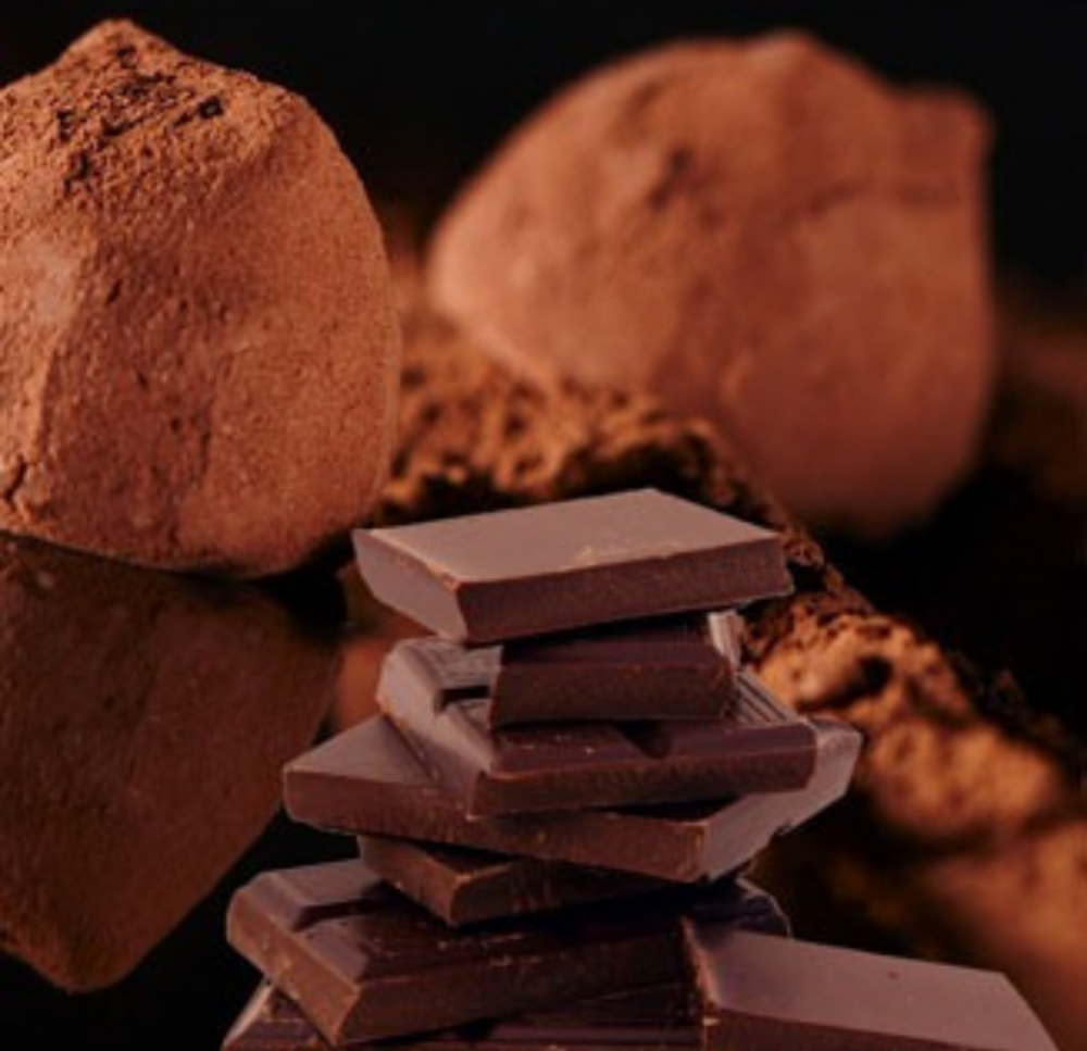 French chocolate truffle