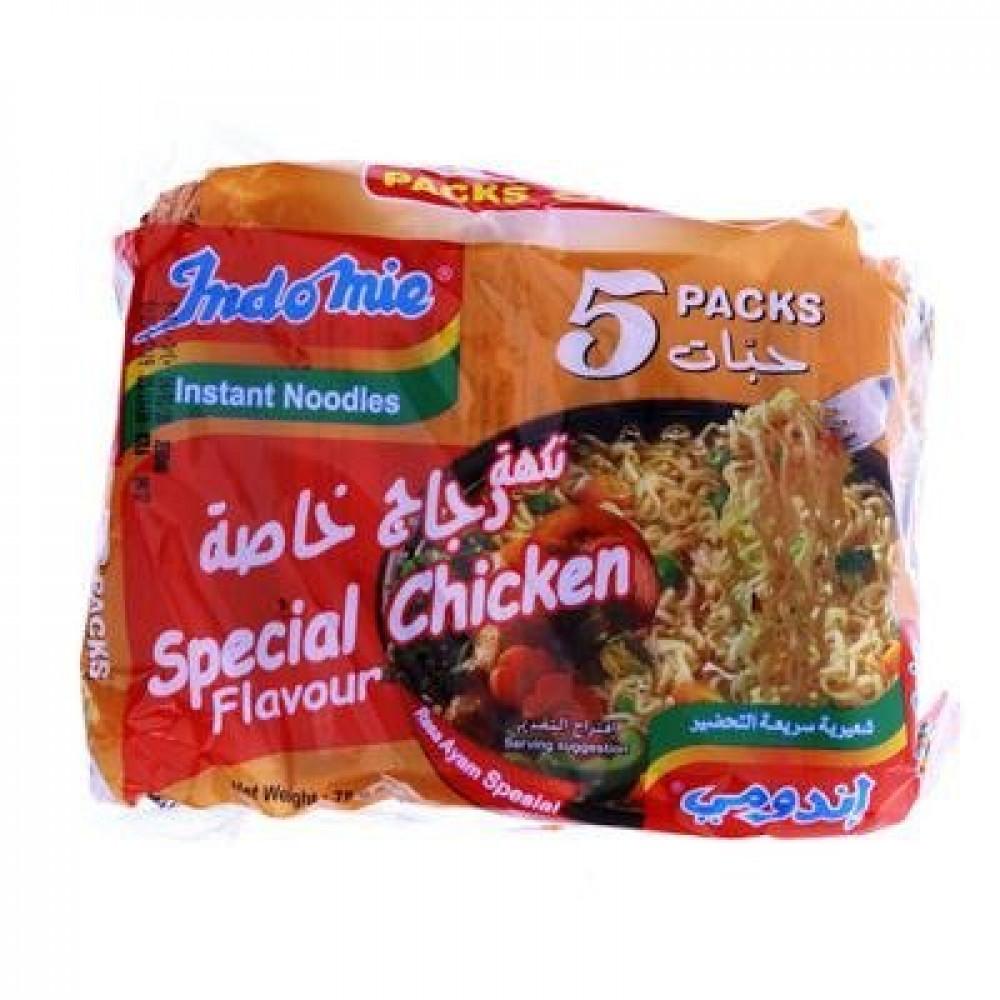 شدة اندومي نكهة دجاج خاصة 5 حبات اسواق المحسن