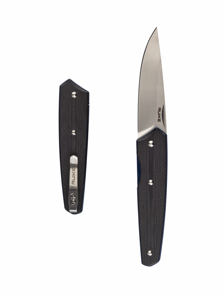 مطويه سكين جيب رويك ruike  النصل الأزرق عالم السكاكين