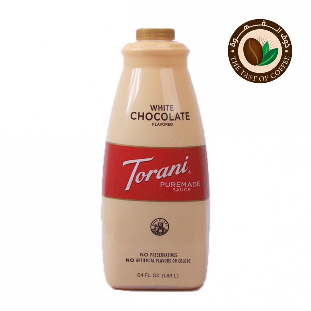 صوص الشوكولاته البيضاء من توراني