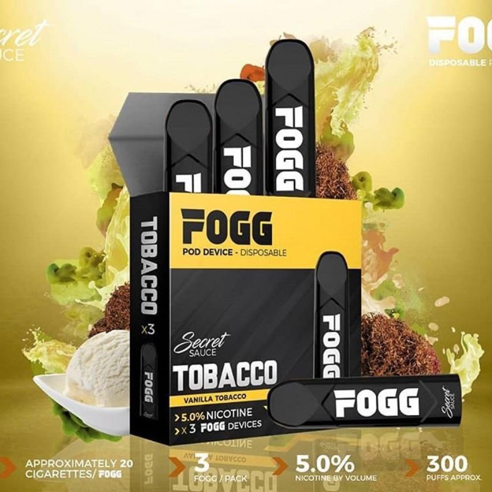 سحبة فوج توباكو - FOGG TOBACCO SaltNic