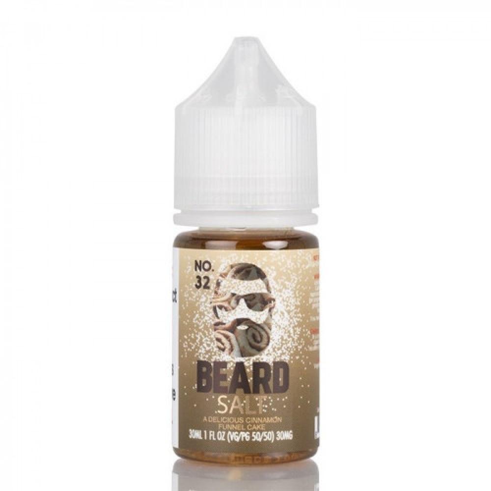 نكهة بيرد 32 سولت نيكوتين - No 32 BEARD VAPE CO - Salt Nicotine - شيشة