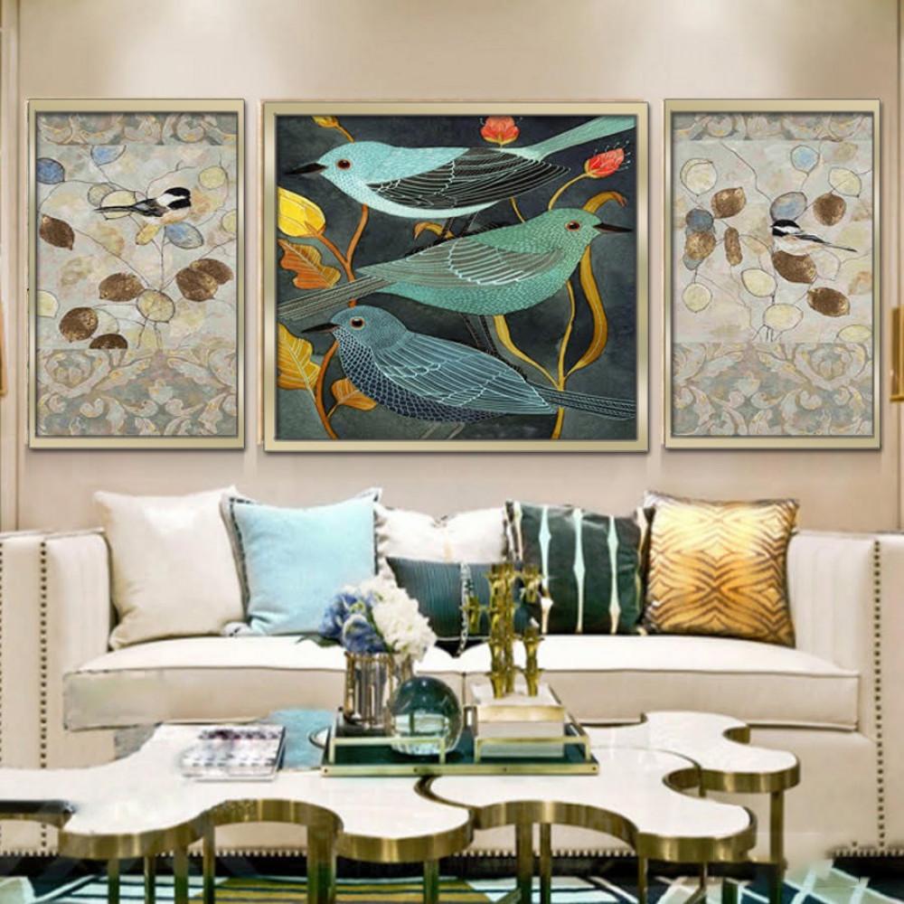 مجموعة لوحات جدارية مقسمة