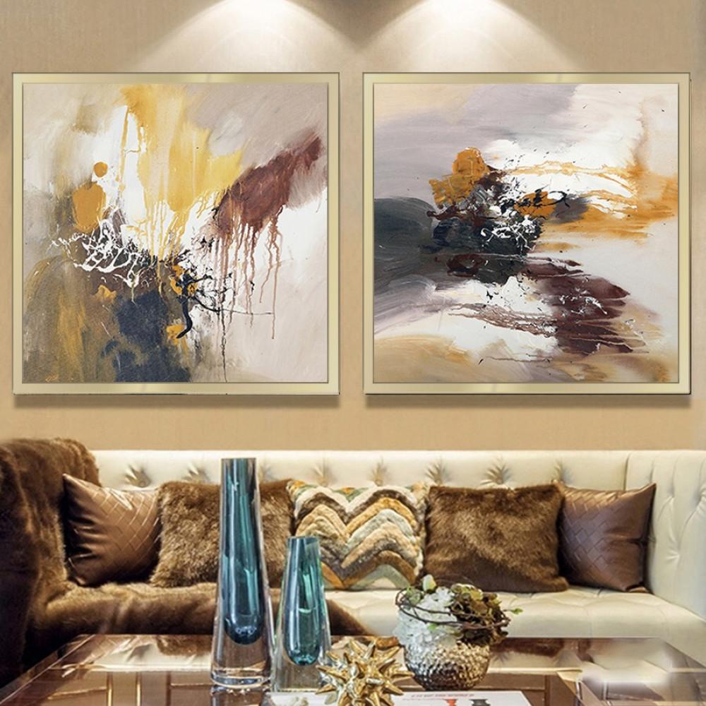 لوحات جدارية فن تجريدي