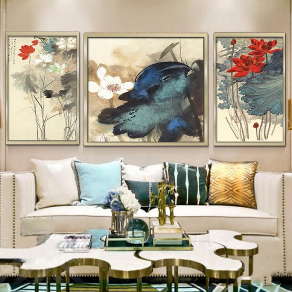 لوحات جدارية مقسمة