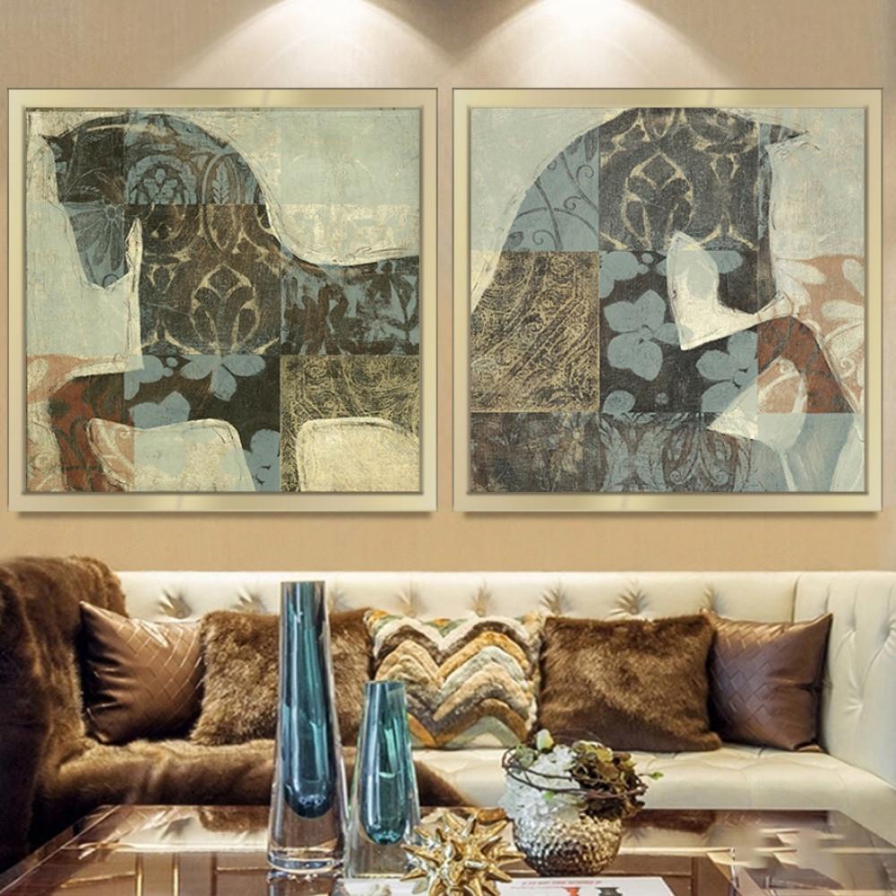 لوحات خيل اجمل لوحات الخيول
