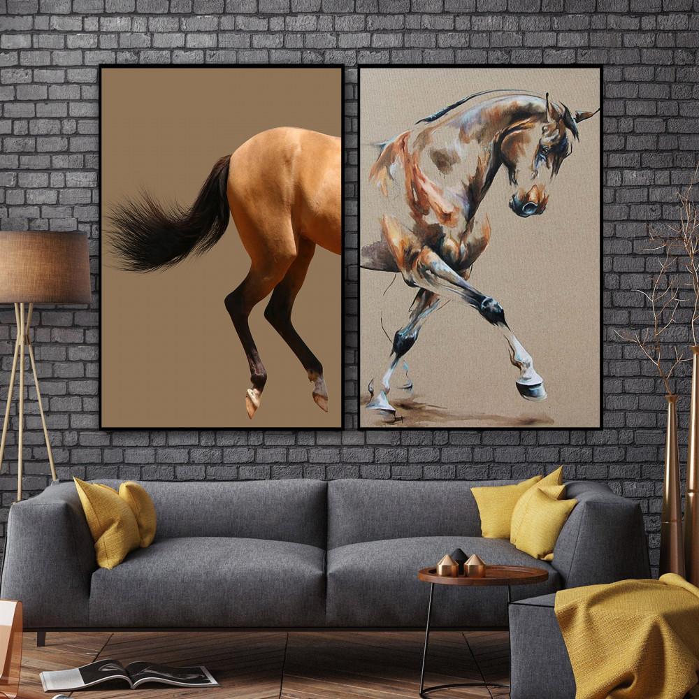 لوحات خيول