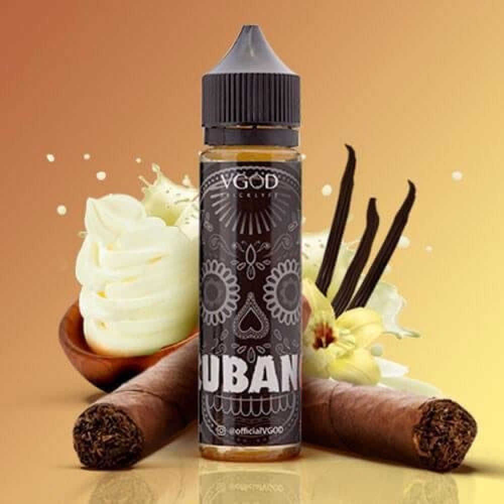 نكهة فيقود كوبانو بلاك - VGOD Cubano Black - 60ML - فيب السعودية شيشة