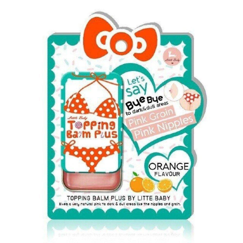 مرطب توبينج بالم بلس للترطيب والتوريد من ليتل بيبي - نكهة البرتقال