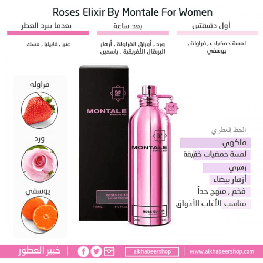 Montale Roses Elixir Eau de Parfum 50ml خبير العطور
