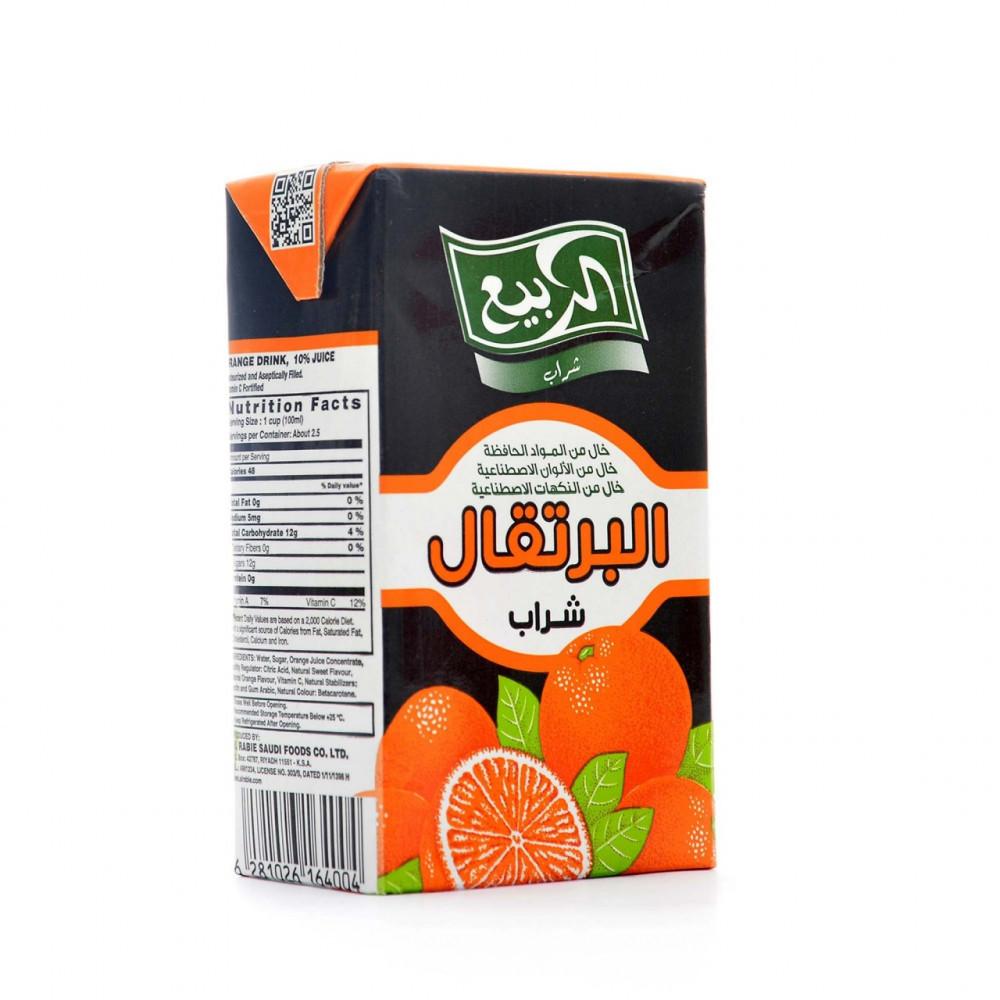عصير برتقال الربيع 250مل اسواق المحسن