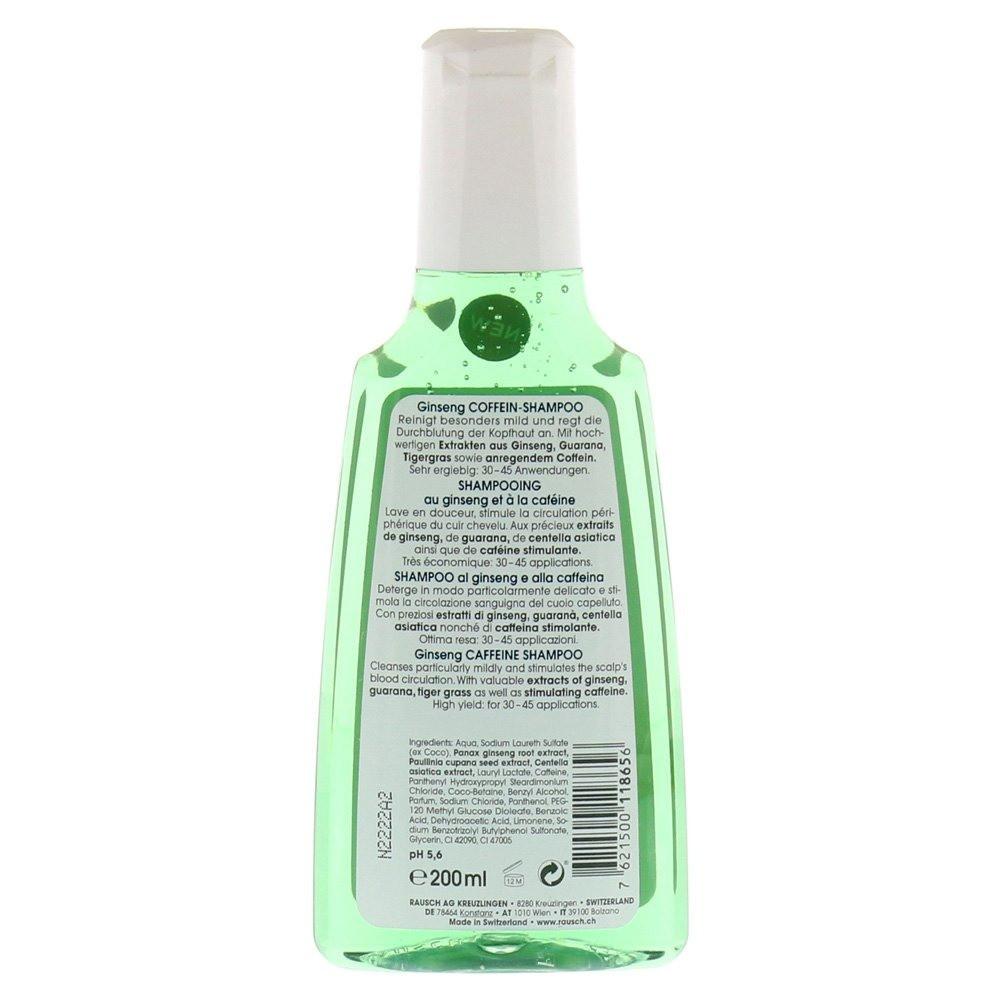 RAUSCH Ginseng Caffeine Shampoo