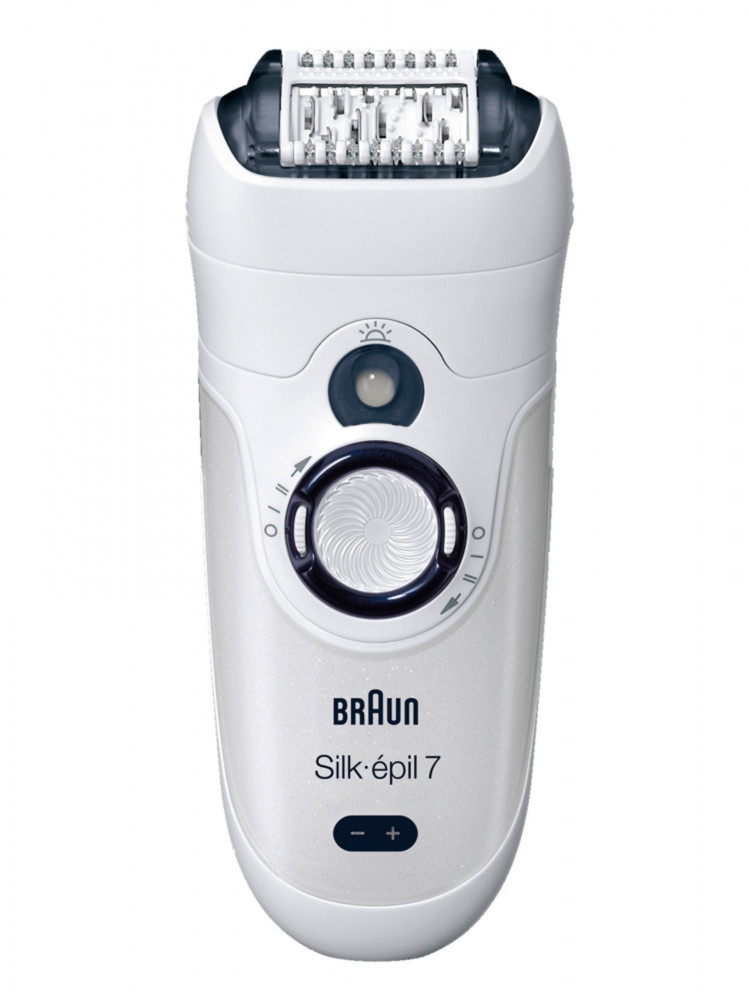 Braun Silk epil 7 7-531 Wet  Dry Epilator With 3 Extras