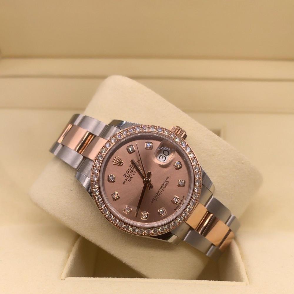 ساعة رولكس ديت جست الأصلية الثمينة مستخدمة 278383