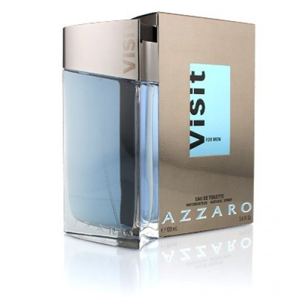 Azzaro Visit For Men Eau de Toilette 100ml خبير العطور