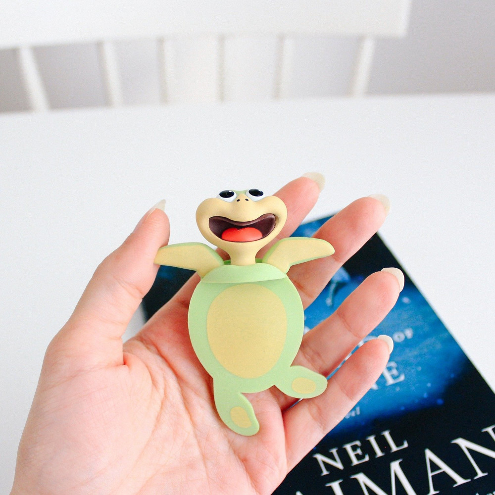 فاصل كتاب للأطفال أفكار هدايا للأطفال كتاب أطفال سلحفاة بحر حيوانات