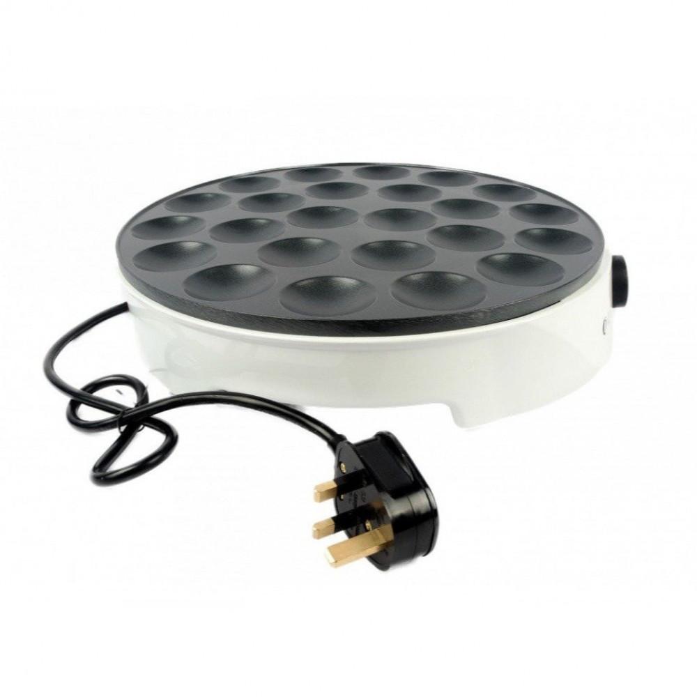 جهاز البان كيك ميني - جهاز صنع ميني بان كيك 24 قطعة DLC-38247 أبيض