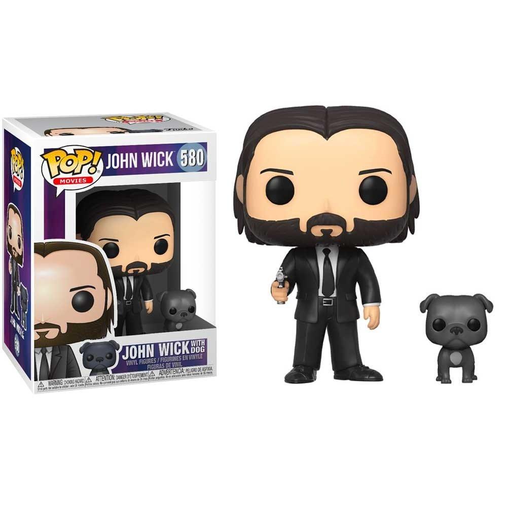 POP and Buddy John Wick John Black Suit wDog