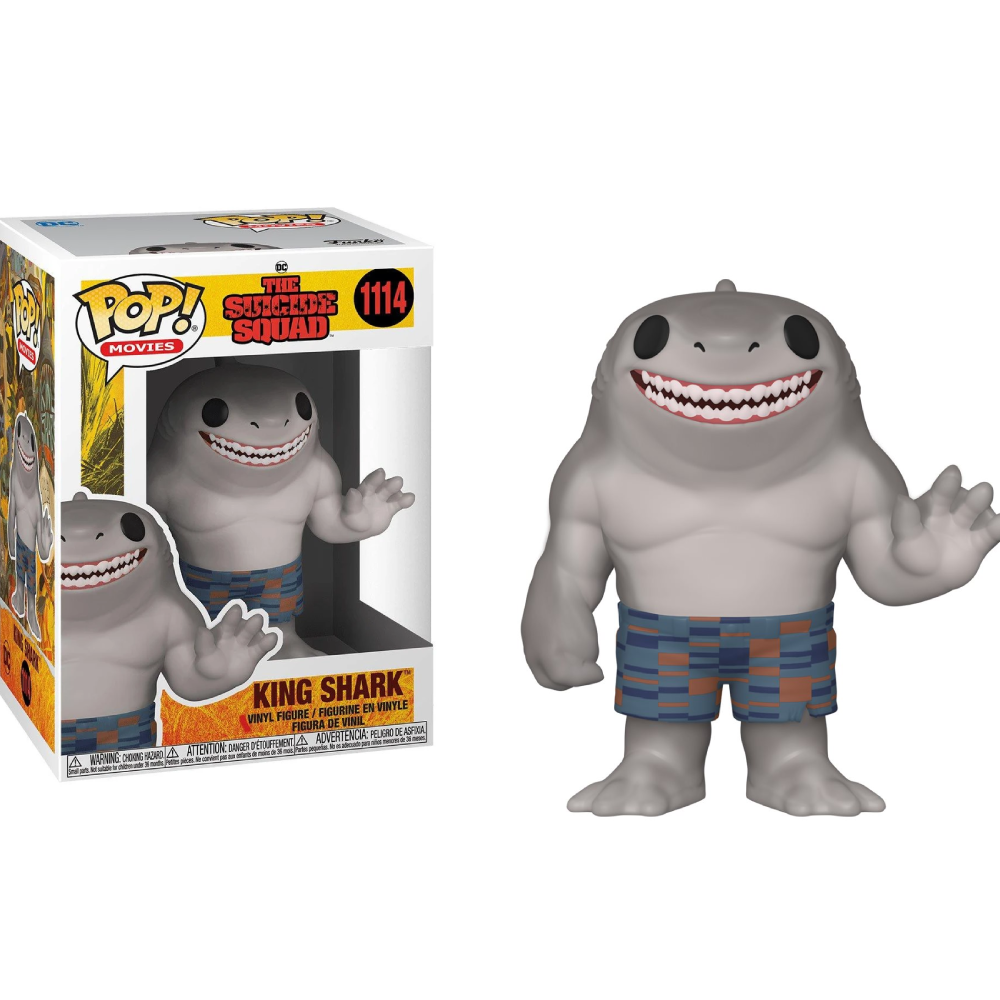 POP Heroes The Suicide Squad King Shark