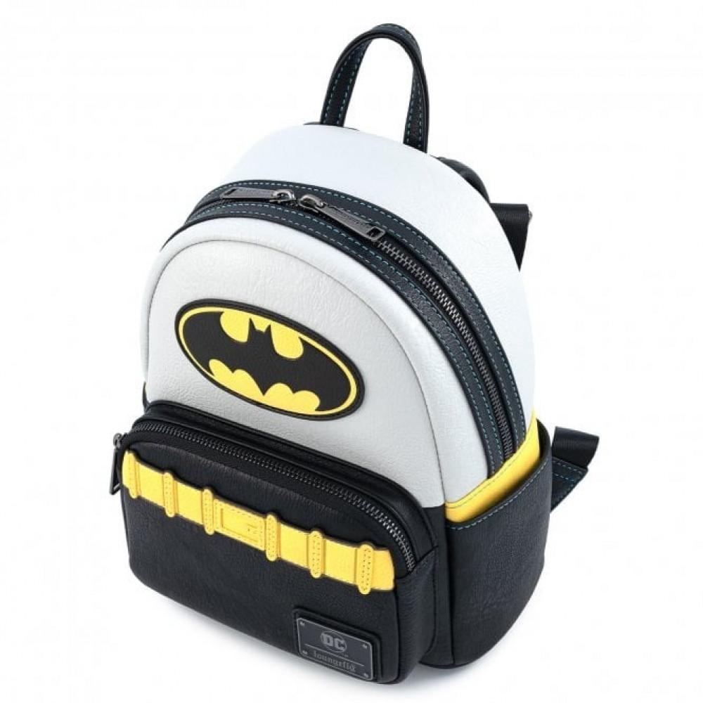 - LF DC COMICS VINTAGE BATMAN COSPLAY MINI BACKPACK