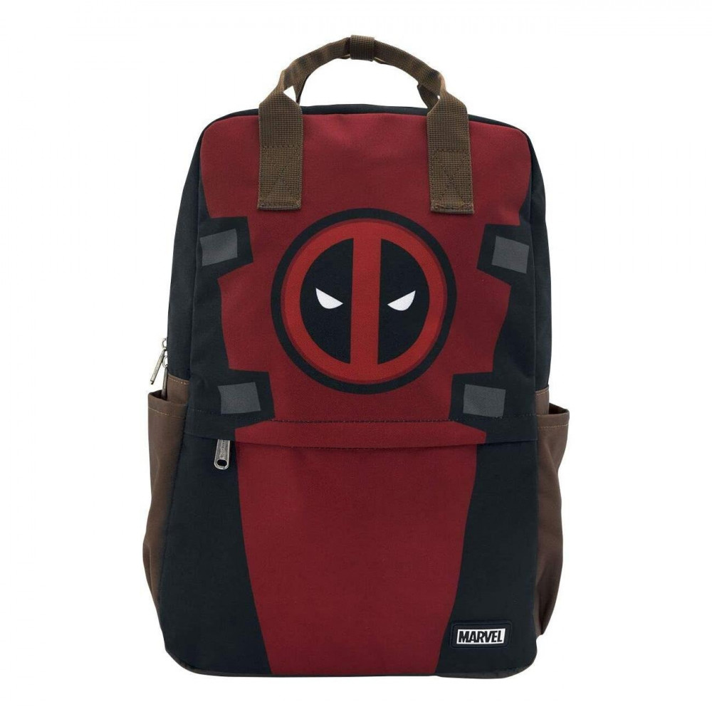 Deadpool Cosplay Square Nylon Backpack