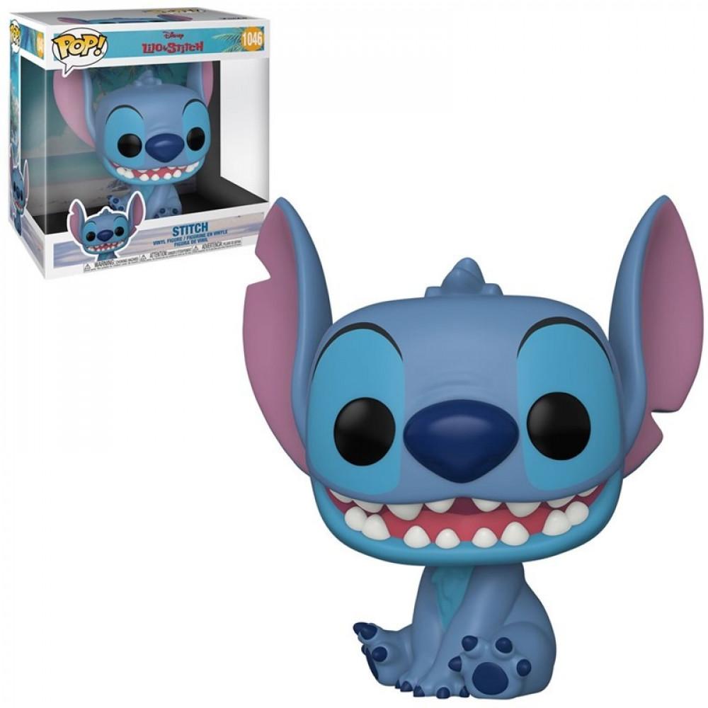 Funko POP Jumbo 10 Lilo Stitch Stitch