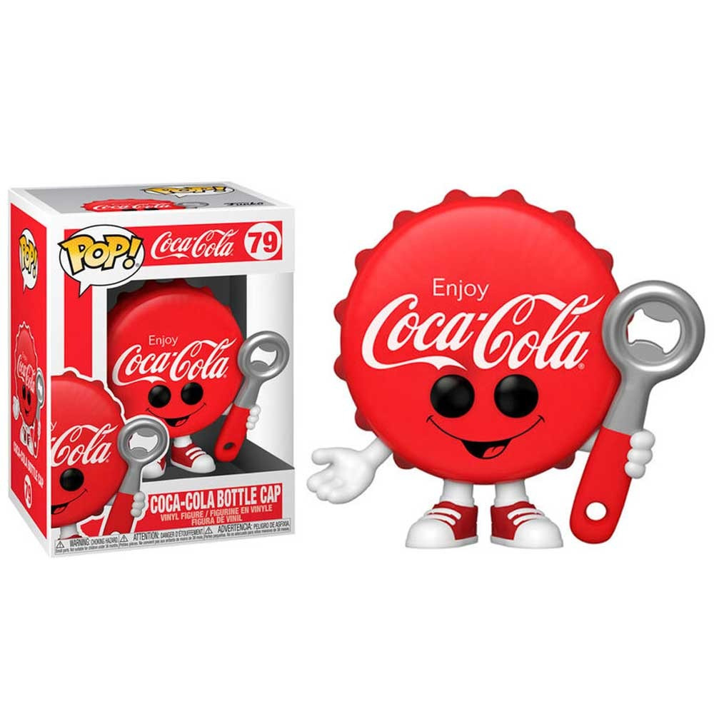POP Icons Coca Cola Cola Bottle Cap