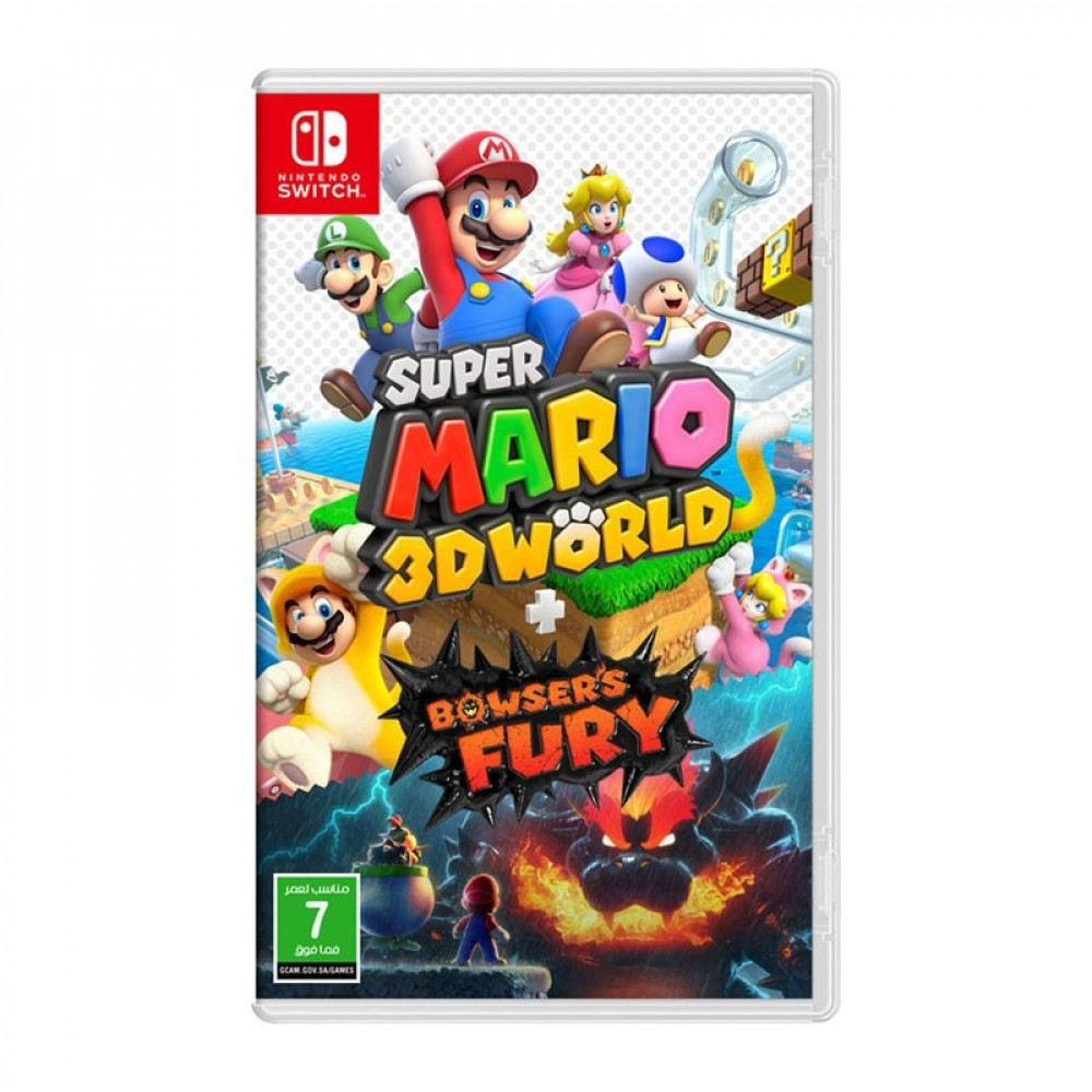 Super Mario 3D World Bowsers Fury Switch