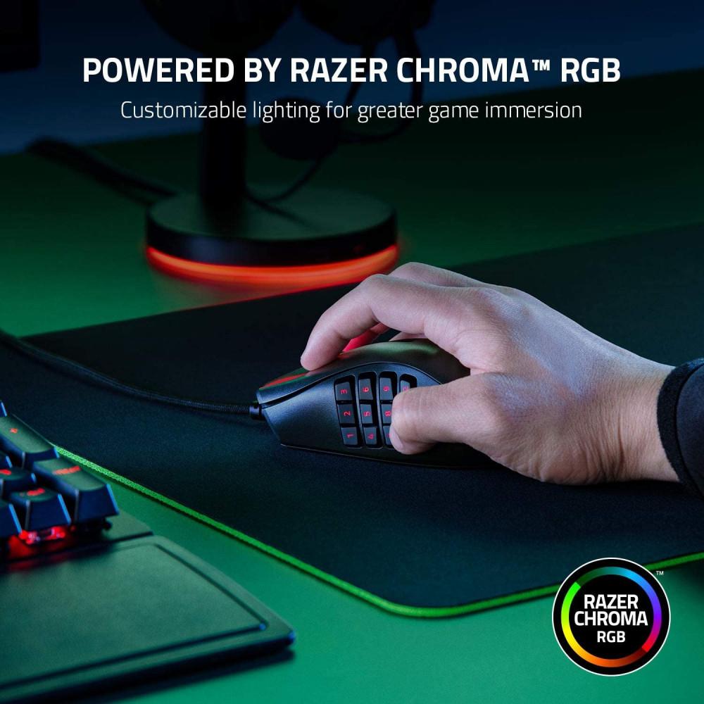 Razer Naga X Wired MMO Gaming Mouse
