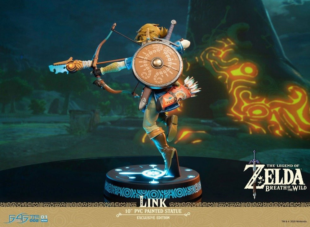 BREATH OF THE WILD  LINK  COLLECTORS EDITION