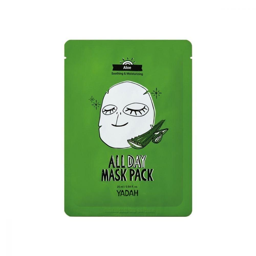 ماسك ترطيب الوجه الجاف بالصبار من ياده ALL DAY MASK PACK - متجر نوفارا