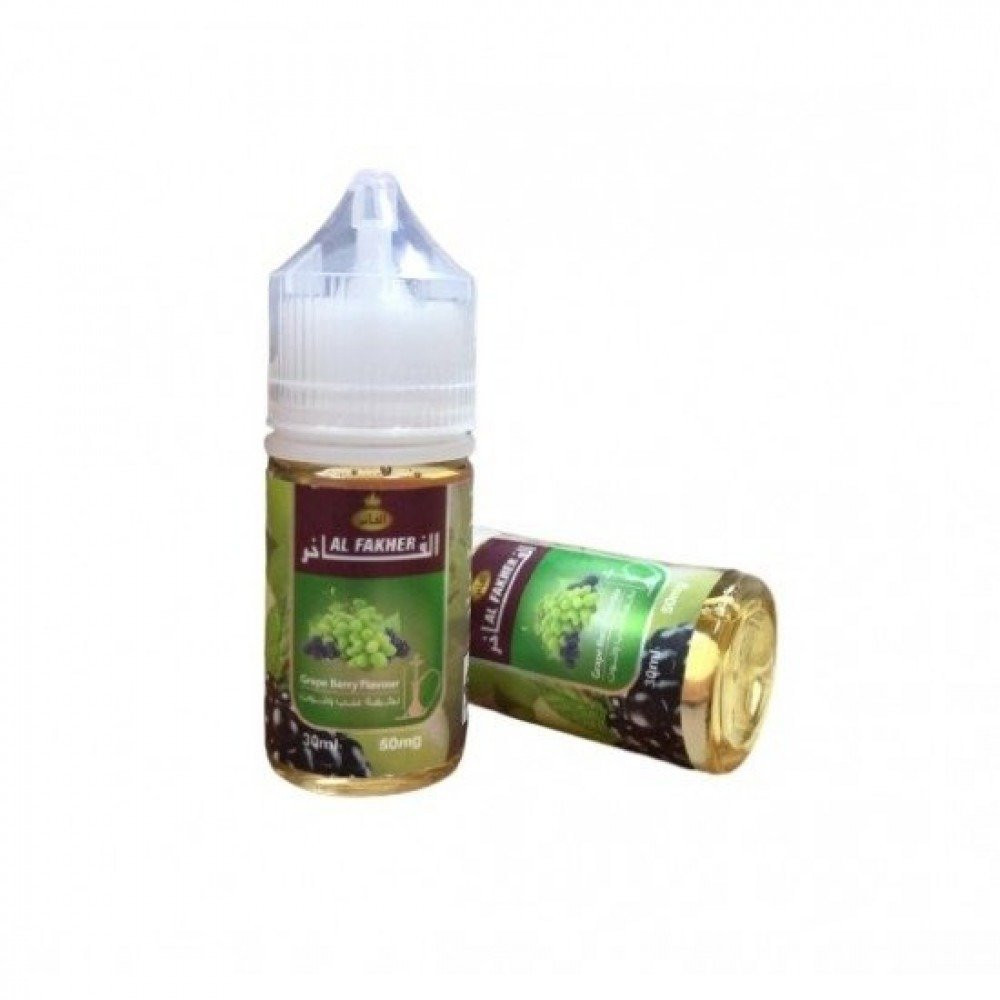نكهة معسل الفاخر عنب توت سولت نيكوتين - Al Fakher Grape Berry