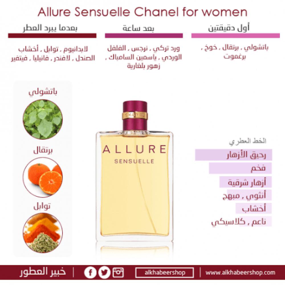 Chanel Allure Sensuelle Eau de خبير العطور