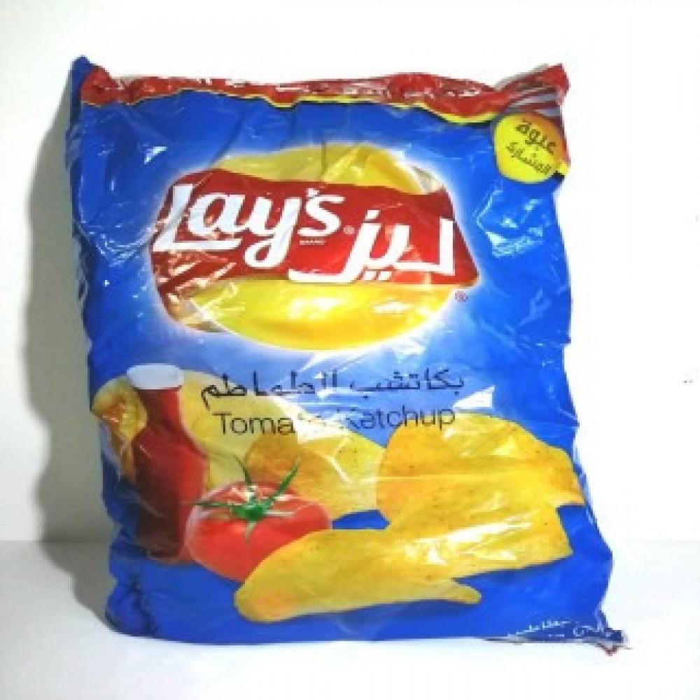 بطاطس ليز 21 حبة متوفر بنكهات مؤسسة كازو التجارية