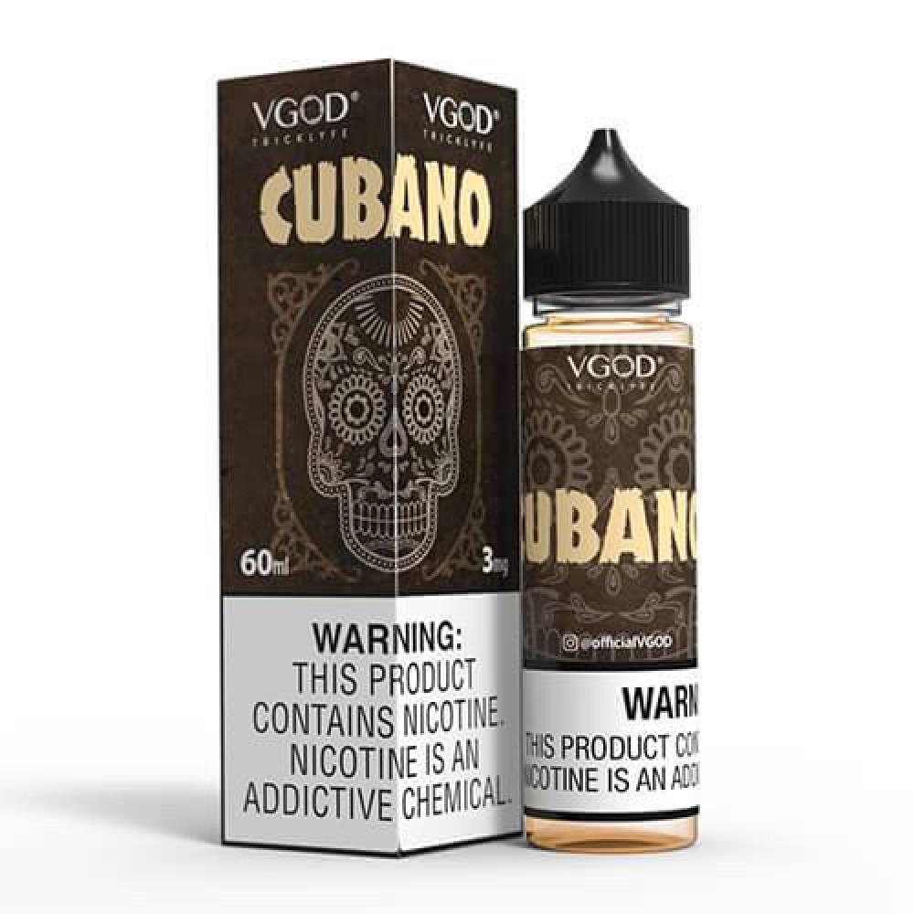 نكهة في قود كوبانو- VGOD Cubano -  60ML - نكهة سيجار كوبي